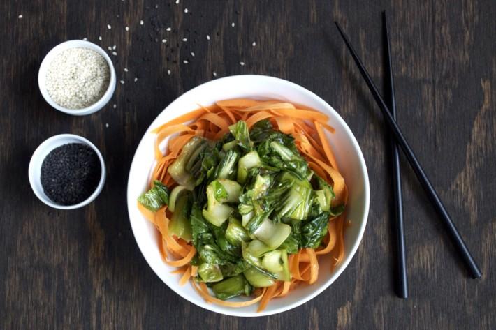 Asian Bok Choy Dish
