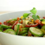 Thai Tomato Salad in a Bowl