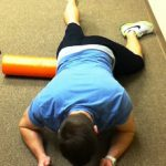 Myofascial release hip flexor/quad
