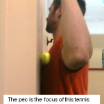 Pec Myofascial Release Exercise