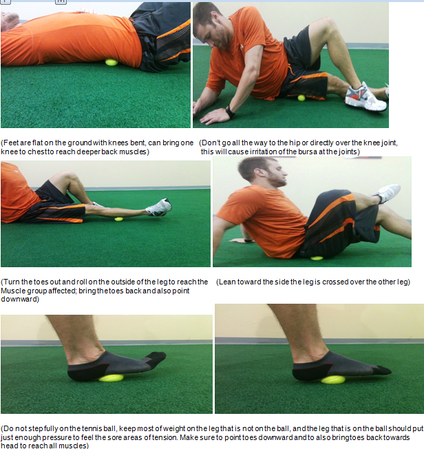 myofascial releaes lower body