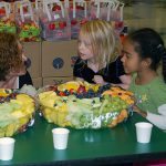 Kids Eating Healthy Fruits
