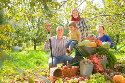 gardening by family: photo credit: © JackF - Fotolia.com