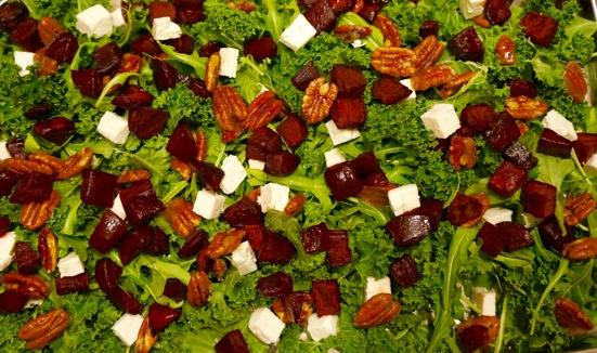 Beetroot Pecan Salad