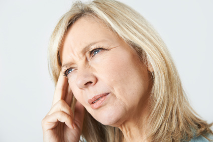 Mature Woman Suffering From Memory Loss
